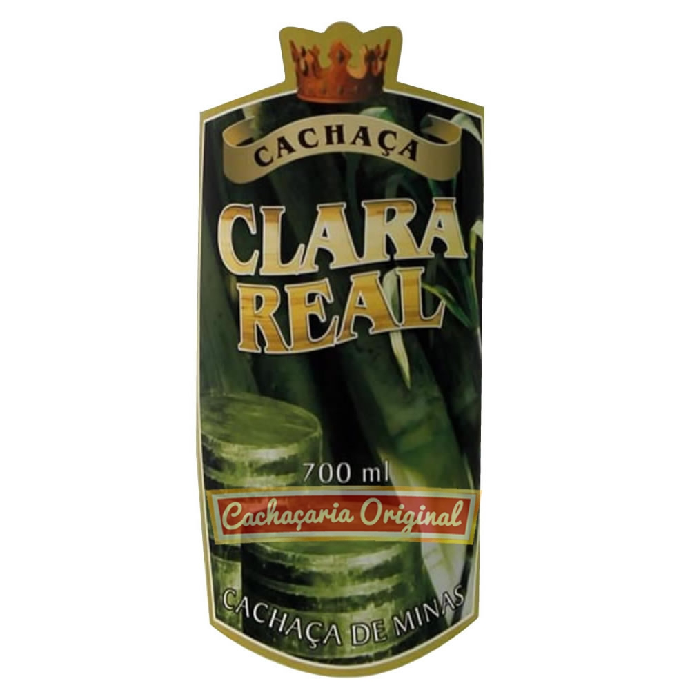 Cachaça Clara Real 700ml