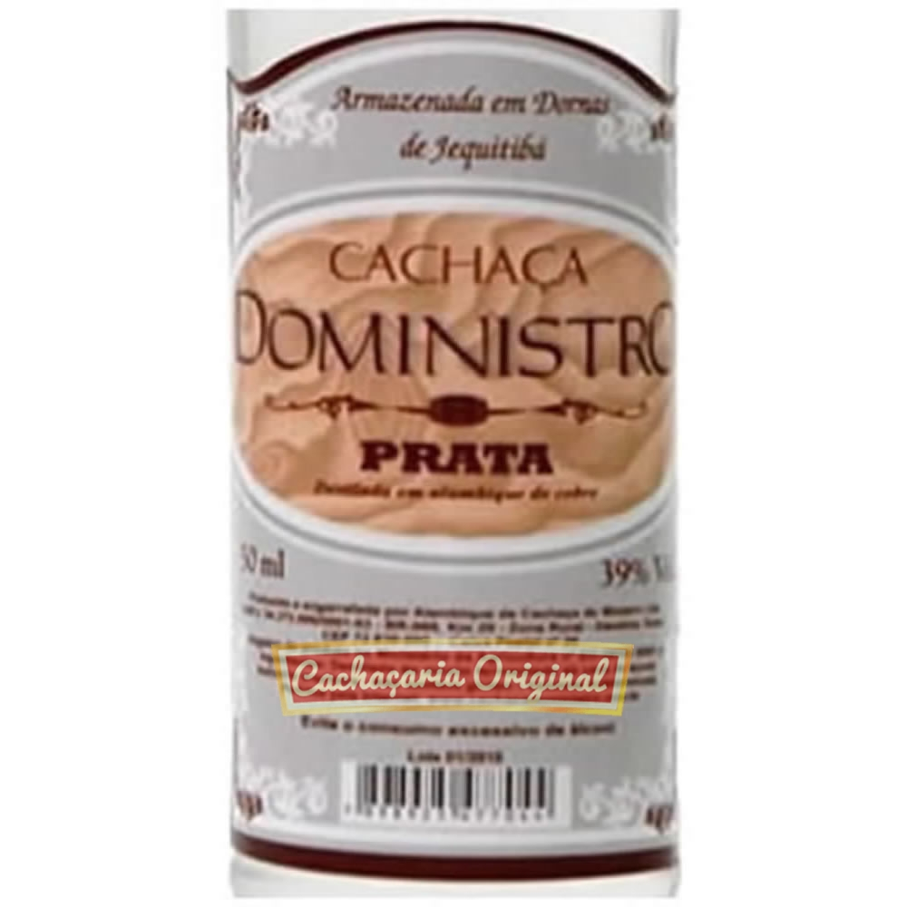 Cachaça DoMinistro 50ml