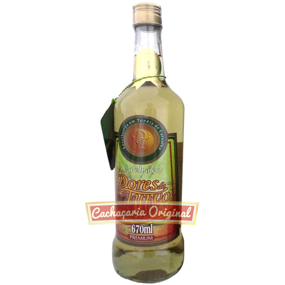 Cachaça Dores do Turvo 670ml