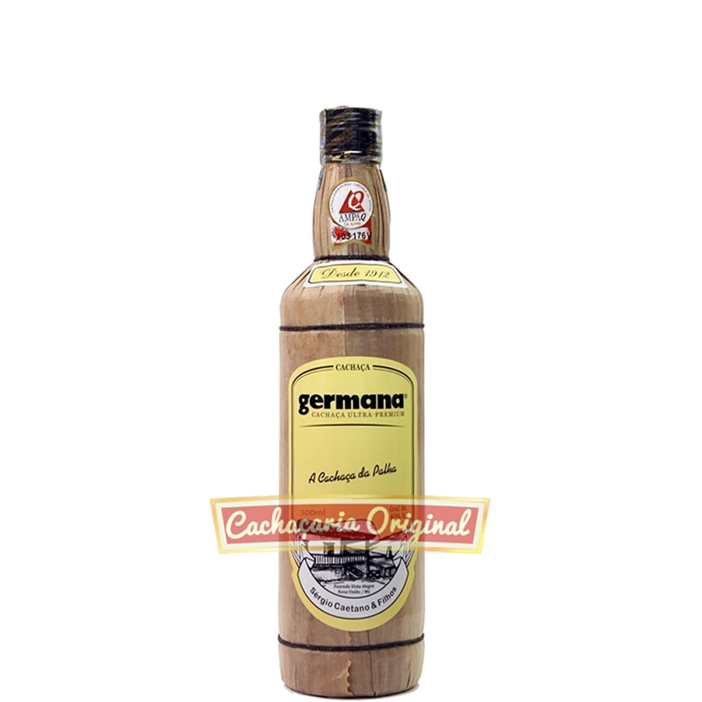 Cachaça Germana palha 300ml