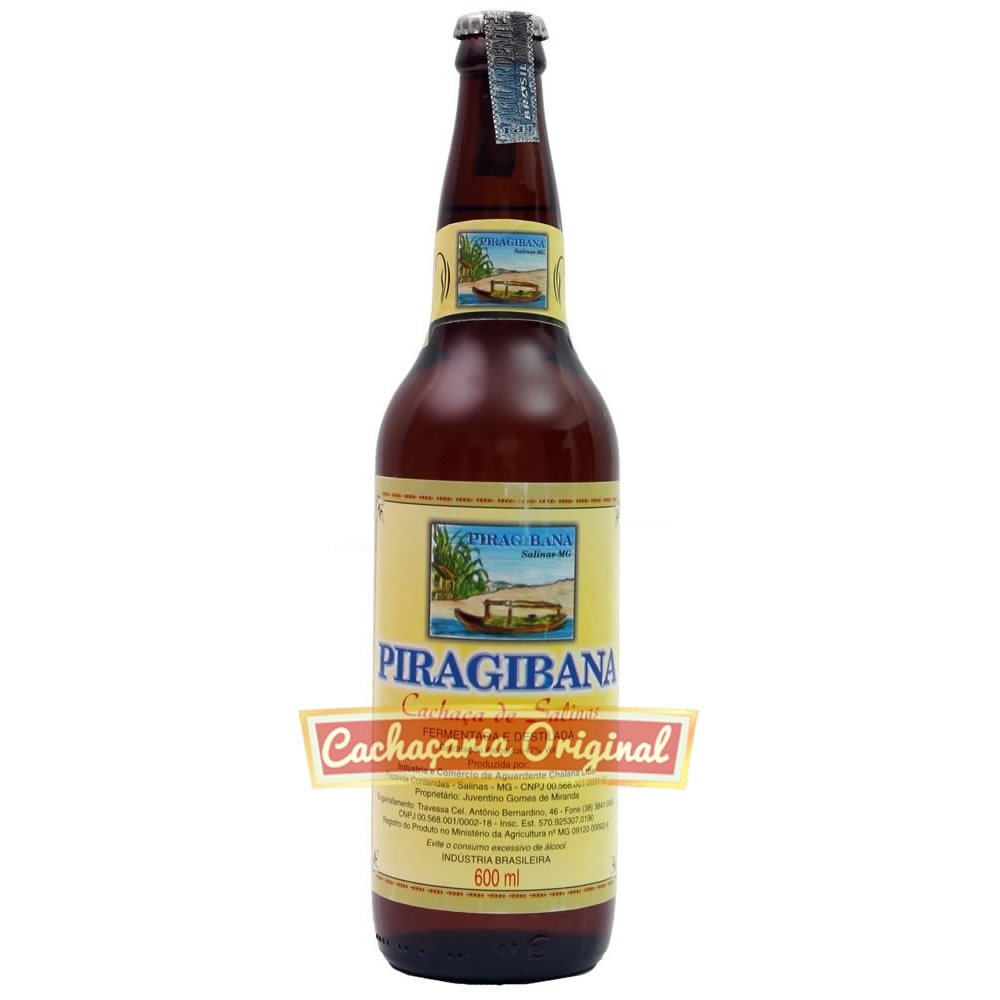 Cachaça Piragibana 600ml