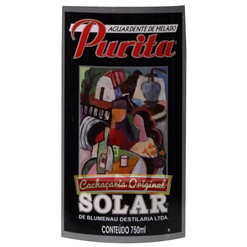 Cachaça Purita 750ml