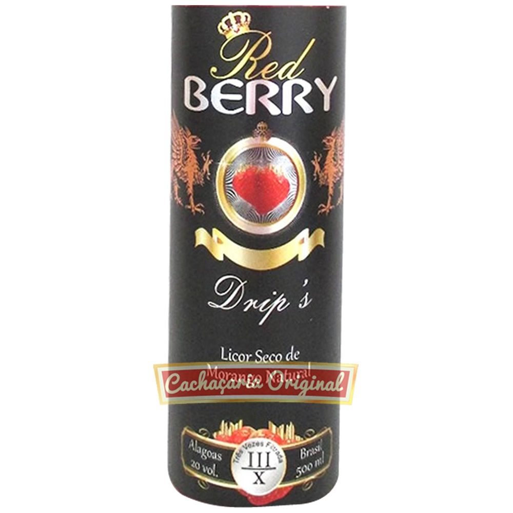 Licor Red Berry Drip s 500ml