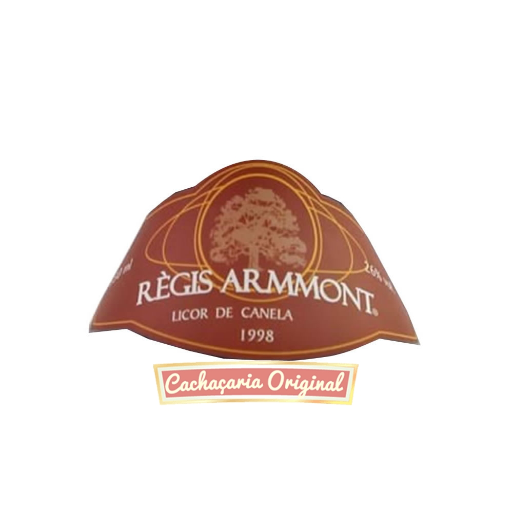 Licor Regis Armmont Congonhas do Campo canela 350ml