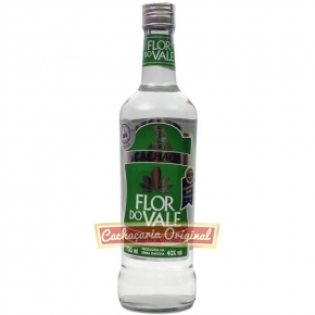 Cachaça Flor do Vale tradicional 700ml