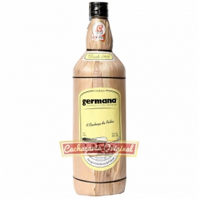 Cachaça Germana palha 1000ml