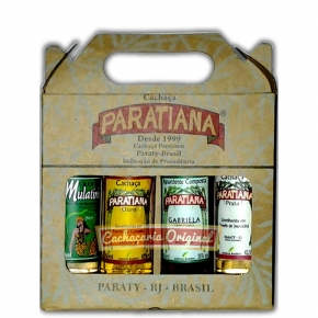Kit miniaturas Paratiana 4x50ml