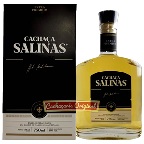 Cachaça Salinas Black 750ml