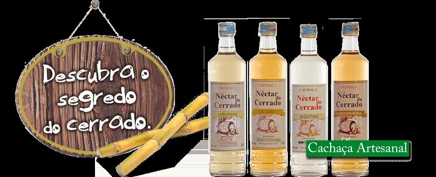 Logo Néctar do Cerrado - Cachaçaria Original