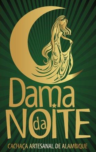 Logo Dama da Noite - cachaçaria Original