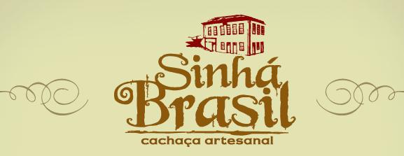 Logo Sinhá Brasil - cachaçaria Original